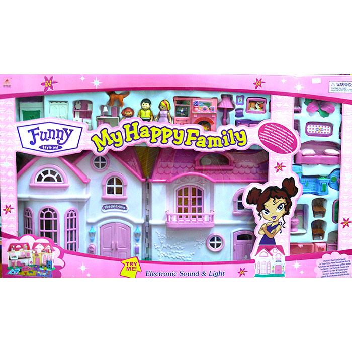 Кукольный домик «Стефания» - купить большой домик для кукол для ... | 700x700