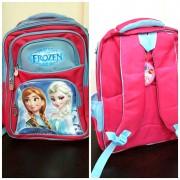 """Школьный рюкзак для девочек """"Frozen"""" красный"""